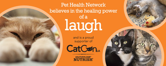 CatConLA Pet Health Network Banner